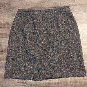 Ann Taylor tweed skirt. Size 14